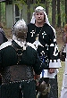 Baron Guillaume talks with contenders for Baronial Champion before the tournament. Click here for full size image.
